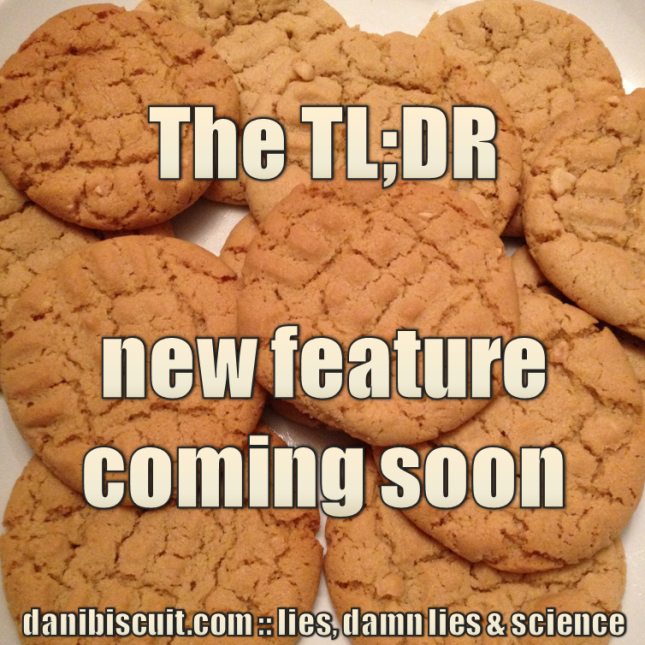 The TL;DR - Coming Soon